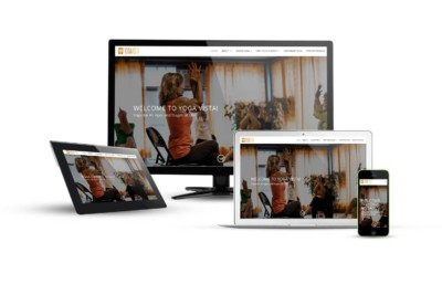 Yoga Vista - Eternal NYC Website Design Portfolio