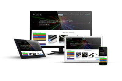 Big Lasers - Eternal NYC Website & E-Commerce Design