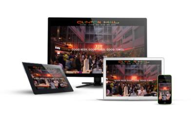Clinton Hall - Eternal NYC Website Design Portfolio