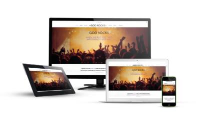 God Rocks - Eternal NYC Website & E-Commerce Design
