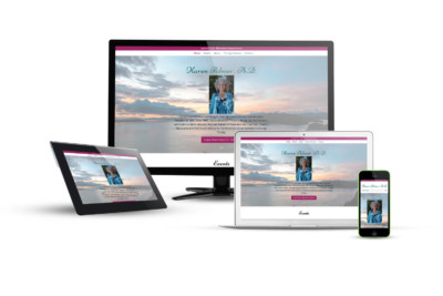 Dr. Karen Palmer - Eternal NYC Website Design Portfolio