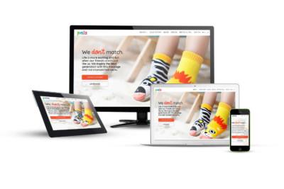 Pals Socks - Eternal NYC Website Design Portfolio